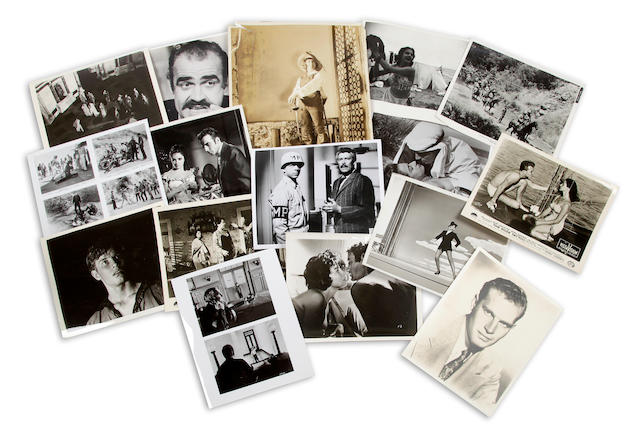 A large collection of publicity stills