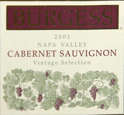 Burgess Cabernet Sauvignon 2001 (12)
