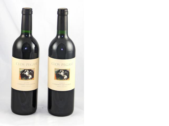 Clos Pegase Cabernet Sauvignon 1999 (7)<BR />Clos Pegase Cabernet Sauvignon 2000 (5)
