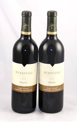 Merryvale Reserve Cabernet Sauvignon 2000 (12)