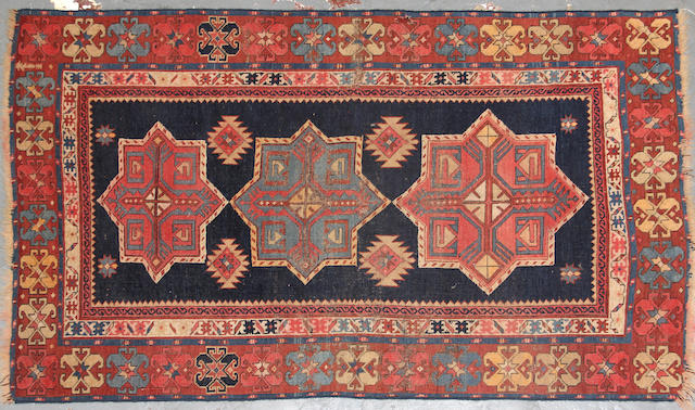 A Caucasian rug size approximately 3ft. 1in. x 5ft. 1in.