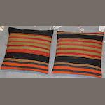 A group of two Kilim pillows
