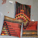 A Group of three Kilim pillows