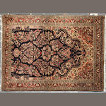 A Sarouk rug size approximately 3ft. x 5ft.