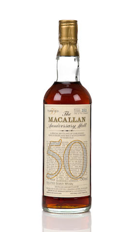Macallan Anniversary- 50 years old