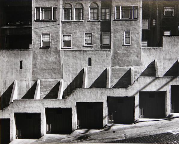 Max Yavno (American, 1911-1985); Garage Doors;