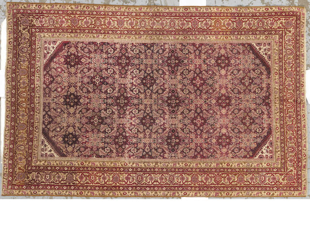 An Amritsar rug Indian size approximately 5ft. 1in. x 7ft. 10in.