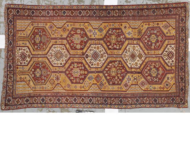 A Qashq'ai rug  Southwest Persia size approximately 5ft. 6in. x 9ft. 9in.