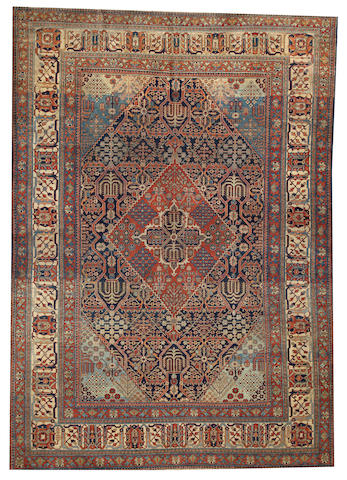 A Northeast Persian carpet Northeast Persia size approximately 7ft. 4in. x 10ft. 5in.