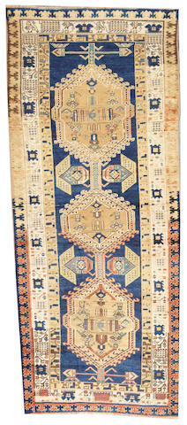 A Serab runner  Northwest Persia size approximately 3ft. 3in. x 7ft. 10in.