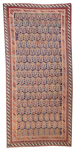 An Afshar long carpet  Southwest Persia size approximately 5ft. 11in. x 12ft. 6in.