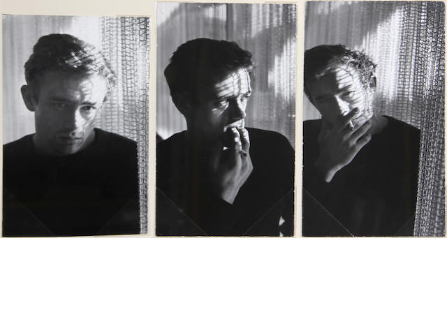 Roy Schatt (American, 1919-2002); James Dean; (3)