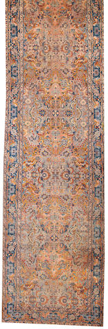 A Tabriz long carpet Northwest Persia size approximately 5ft. 11in. x 24ft. 4in.