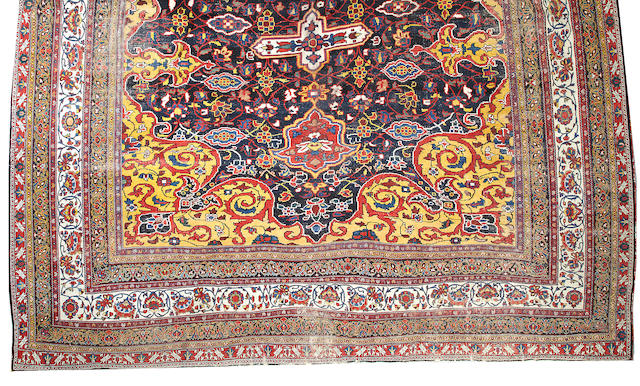 A Bakhtiari carpet Southwest Persia size approximately 18ft. 1in. x 31ft. 1in.