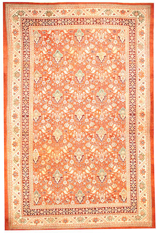 Turkestan carpet Turkestan size approximately 11ft. 6in. x 17ft. 3in.