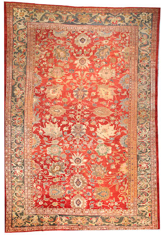 A Sultanabad carpet Central Persia size approximately 12ft. 9in. x 18ft. 8in.