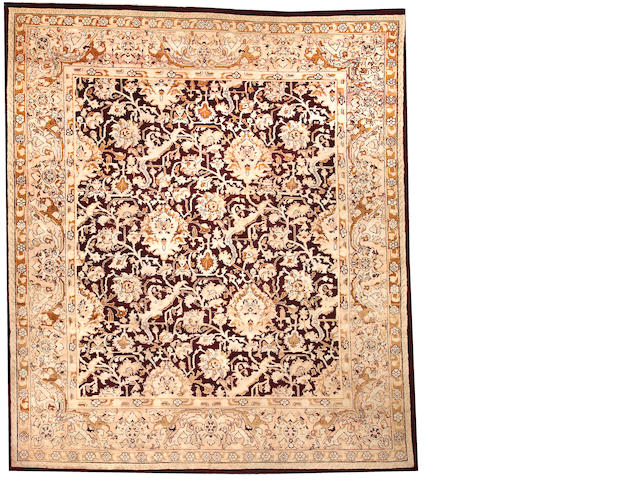 An Amritsar carpet  India size approximately 10ft. x 11ft. 5in.