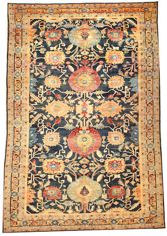 A Mahal carpet  Central Persia size approximately 11ft. 1in. x 17ft. 1in.