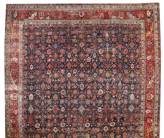 A Bidjar carpet Northwest Persia size approximately 15ft. 4in. x 25ft.