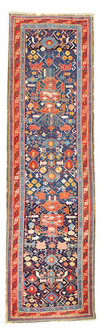 A Caucasian runner Caucasus approximately 3ft. 6in. x 10ft.