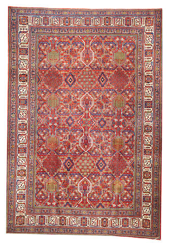 A Josheghan carpet Central Persia approximately  7ft. 7in. x 11ft.