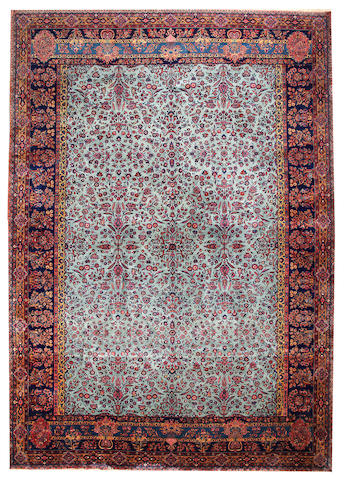 A Kashan carpet Central Persia approximate 11ft. 10in. x 16ft. 10in.