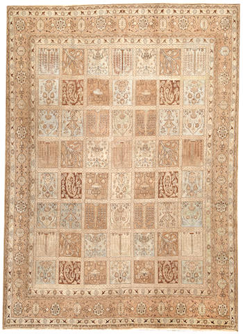 A Kerman carpet  South Central Persia size approximately 9ft. 6in. x 12ft.