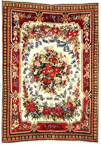 A Qashq'ai rug Southwest Persia size approximately 3ft. x 5ft.