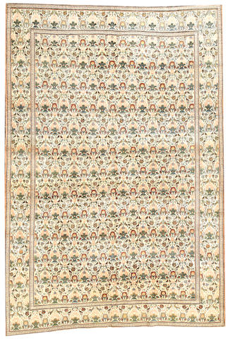 A Teheran carpet Iran size approximately 7ft. x 10ft.
