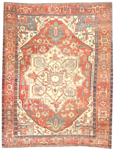 A Serapi carpet Northwest Persia size approximately 10ft. 10in. x 13ft. 8in.