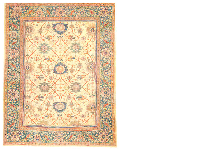 A Sultanabad carpet  Central Persia size approximately 9ft. x 12ft.