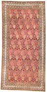 An Indian long carpet India size approximately 7ft. x 14ft. 2in.