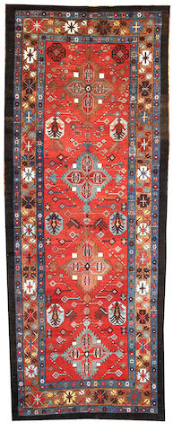 A Bakshaish long carpet  Northwest Persia size approximately 5ft. 8in. x 14ft. 6in.