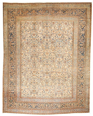 A Khorasan carpet  Northeast Persia size approximately 10ft. 5in. x 13ft. 3in.