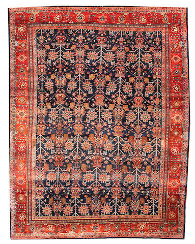 A N.W. Persian carpet  Northwest Persia size approximately 9ft. 1in. x 11ft. 6in.