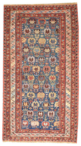A Soumak rug Caucasus size approximately 4ft. 3in. x 7ft. 7in.
