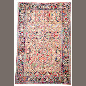 A Heriz long carpet  Northwest Persia size approximately 6ft. 7in. x 10ft.