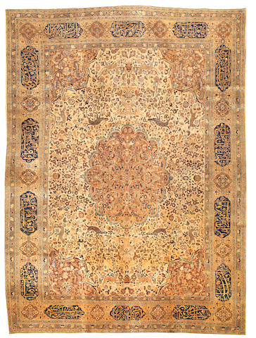 A Khorason carpet  Northeast Persia size approximately 10ft. x 13ft. 6in.