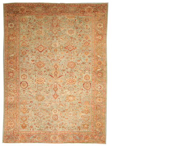 A Sultanabad carpet  Central Persia size approximately 9ft. 2in. x 12ft. 2in.