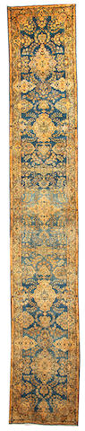 A Kerman runner  South Central Persia size approximately 3ft. x 17ft. 7in.
