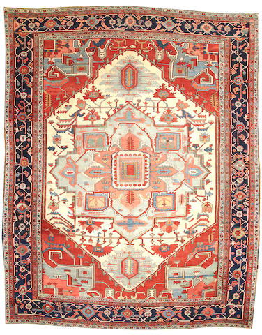 A Serapi carpet  Northwest Persia size approximately 11ft. 8in. x 15ft.