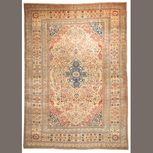 A Mohtasham Kashan carpet  Central Persia size approximately 8ft. x 11ft.