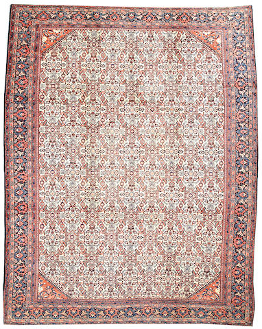 A Fereghan carpet Central Persia size approximately 9ft. 4in. x 12ft.