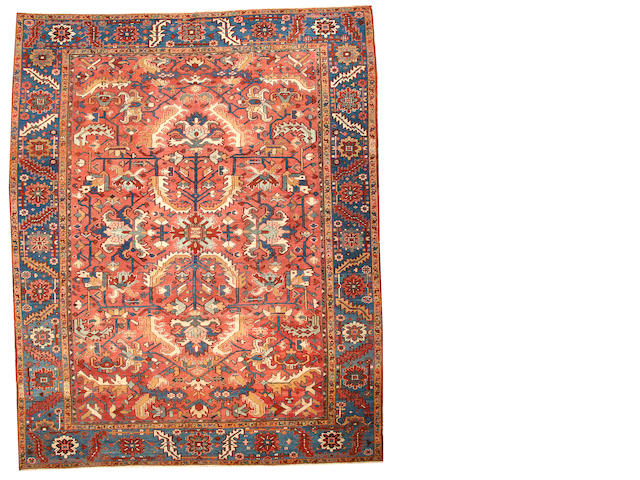A Serapi carpet  Northwest Persia size approximately 10ft. 2in. x 12ft. 6in.