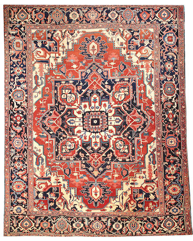 A Serapi carpet  Northwest Persia size approximately 11ft. x 14ft.