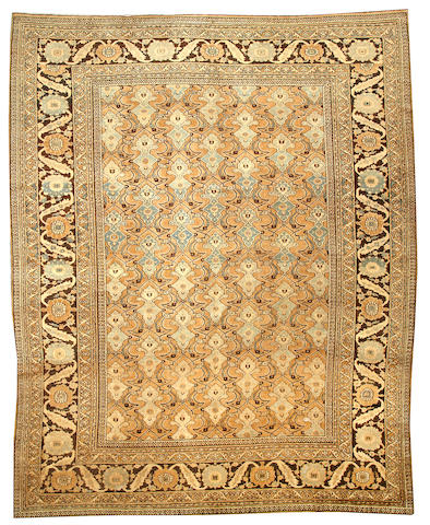 A Meshed carpet  Northeast Persia size approximately 10ft. x 12ft. 2in.