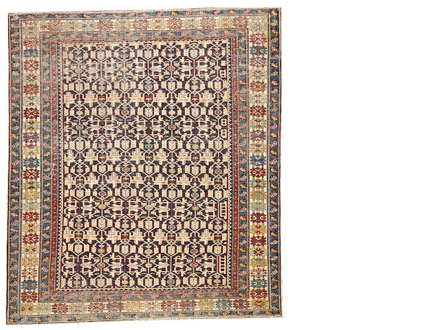 A Kuba rug  Caucasus size approximately 4ft. 3in. x 4ft. 10in.