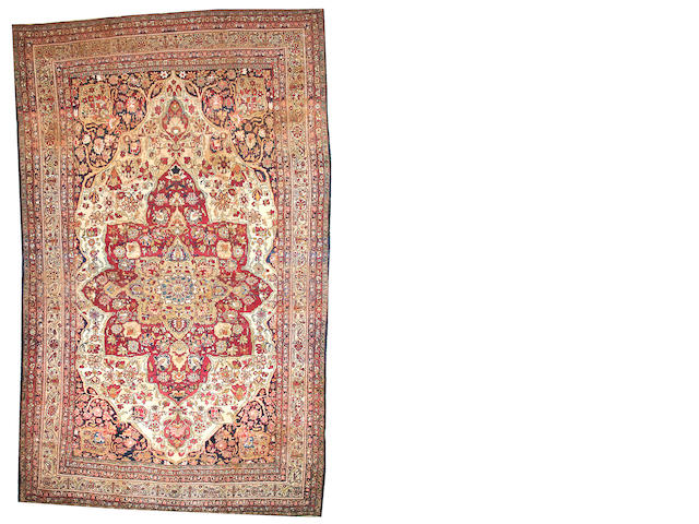 A Lavar Kerman South Central Persia size approximately 10ft. 7in. x 17ft.