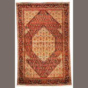A Sarouk Fereghan rug  Central Persia size approximately 4ft. 2in. x 6ft. 9in.