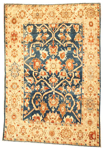 A Malayer rug Central Persia size approximately 4ft. 5in. x 6ft. 7in.
